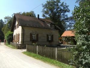 Schleußenhaus König Ludwig Kanal