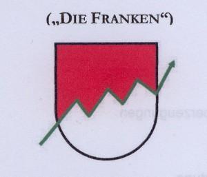 Partei f.Franken Logo