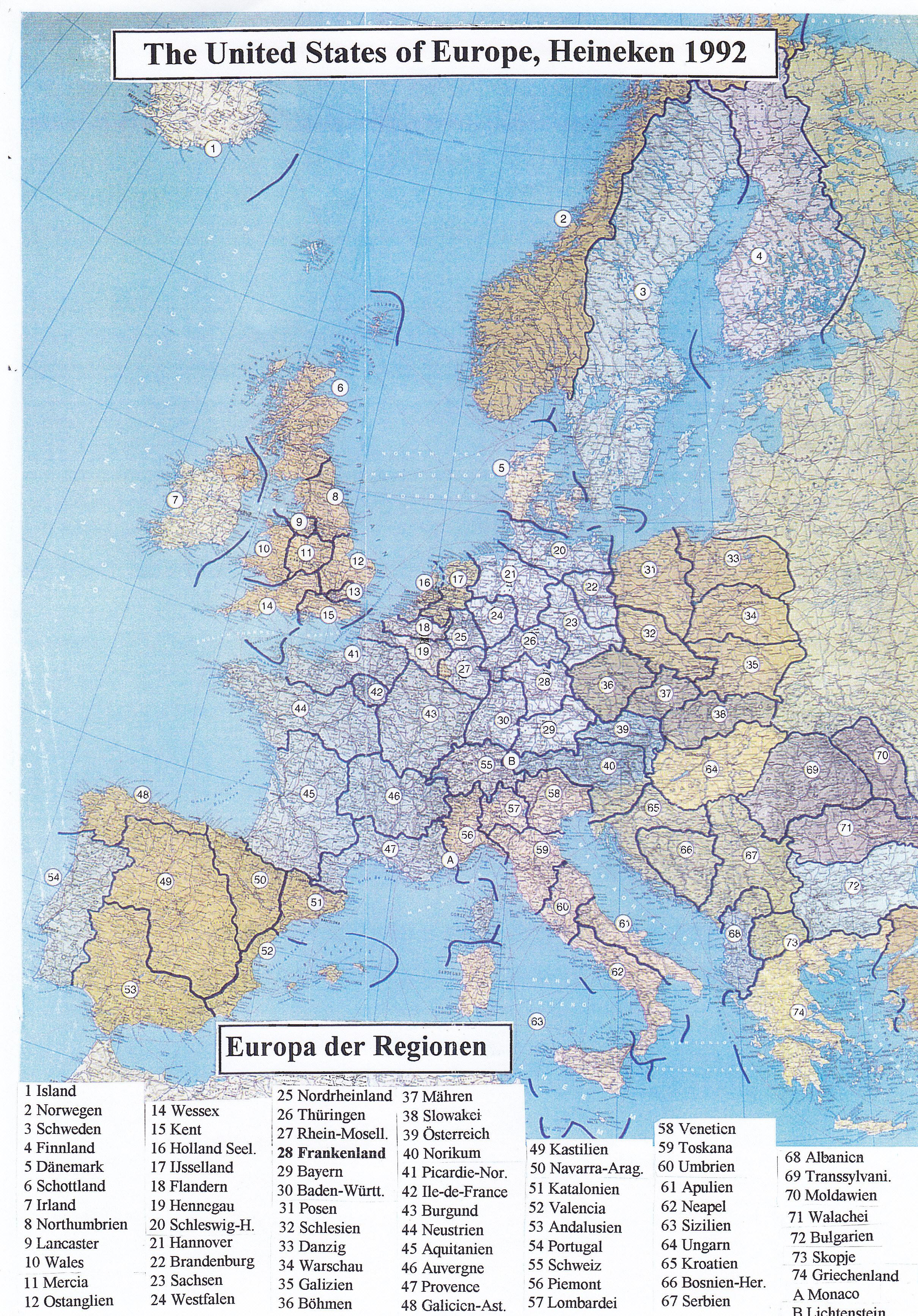 mittelverteilung in europa